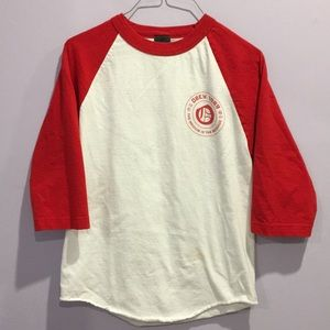 Obey 3/4 sleeve top